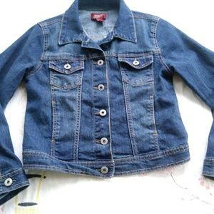 Denim jacket size 10-12 Arizona jean jacket